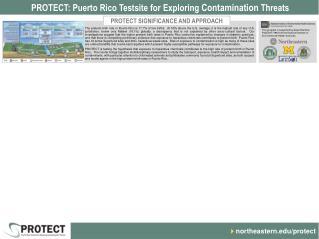 PROTECT: Puerto Rico Testsite for Exploring  Contamination  Threats