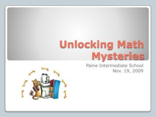 Unlocking Math Mysteries