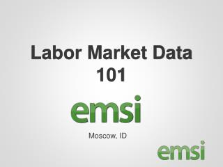 Labor Market Data 101