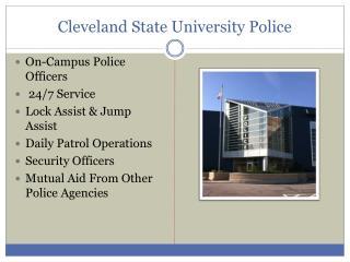 Cleveland State University Police