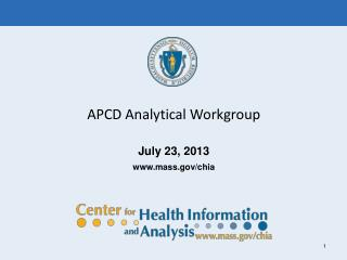 APCD Analytical Workgroup