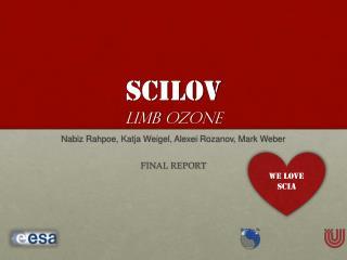 SCILOV Limb  OZONE