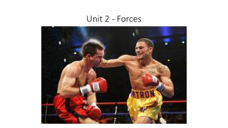 Unit 2 - Forces