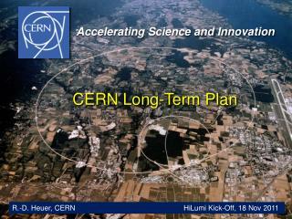 CERN Long-Term Plan
