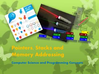 Pointers, Stacks and  Memory Addressing