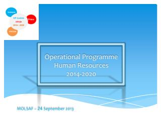 Operational Programme Human Resources 2014-2020