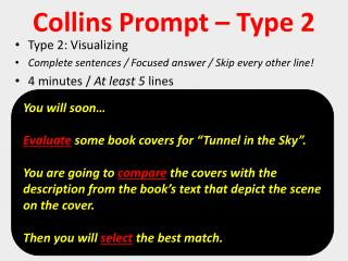 Collins Prompt – Type  2