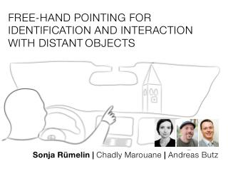 Free-hand Pointing for Identification and Interaction  with Distant Objects