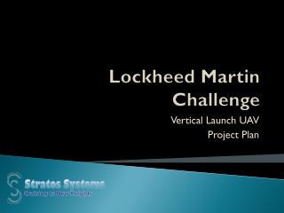 Lockheed Martin Challenge
