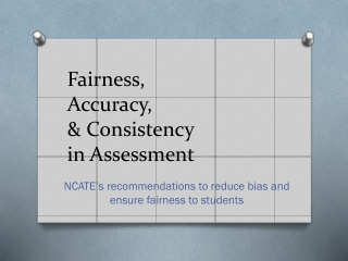 How Do You Know   Assessing Learning