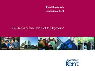 """Students at the Heart of the System"""