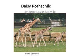 Daisy Rothschild