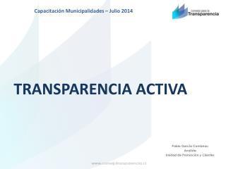 TRANSPARENCIA ACTIVA
