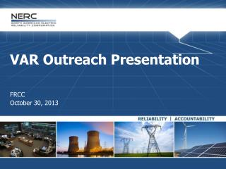 VAR Outreach Presentation