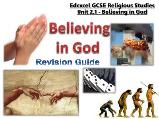 Edexcel  GCSE Religious Studies Unit 2.1 - Believing in God
