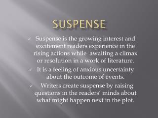 Suspense