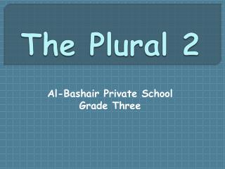 The Plural 2