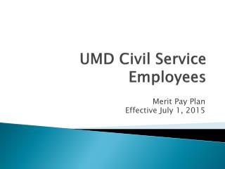 UMD Civil Service Employees