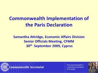 Commonwealth Progress Since 2005