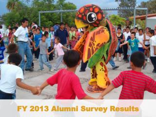 FY 2013 Alumni Survey Results