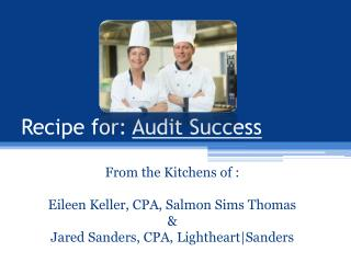 Recipe for:  Audit Success