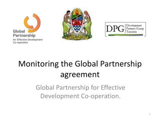 Monitoring the  Global Partnership  agreement