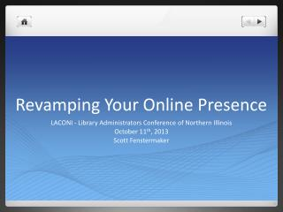 Revamping Your Online Presence