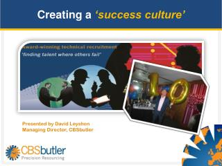 Creating a  �success culture �