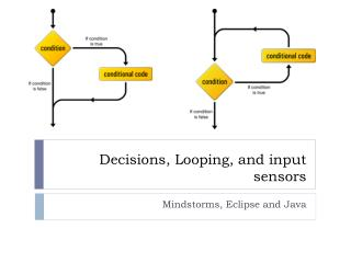 Decisions, Looping, and input sensors