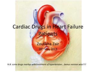 Cardiac Drugs in Heart Failure Patients