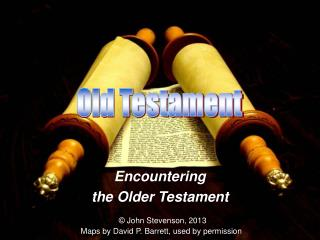 Encountering  the Older Testament