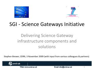 S GI -  Science Gateways Initiative