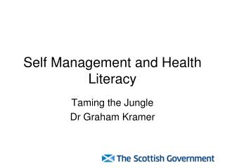 Self Management and Health Literacy