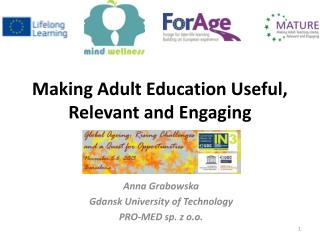Making Adult Education Useful, Relevant and Engaging