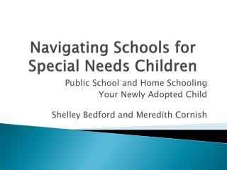 Navigating Schools for Special Needs Children