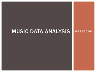 MUSIC DATA ANALYSIS