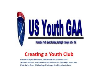 Creating a Youth Club