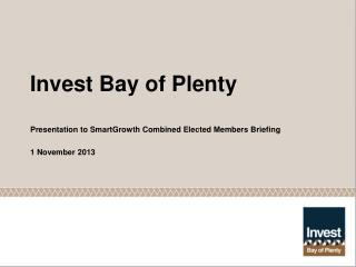 Invest Bay of Plenty