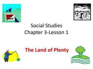 Social Studies Chapter 3-Lesson 1