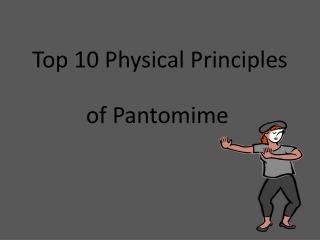 of Pantomime