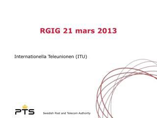 RGIG 21 mars 2013