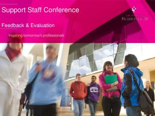 Support Staff Conference Feedback & Evaluation