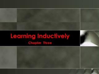 Learning Inductively