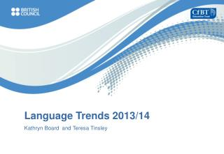 Language Trends 2013/14