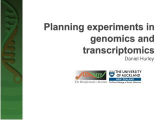 Planning experiments in genomics and  transcriptomics