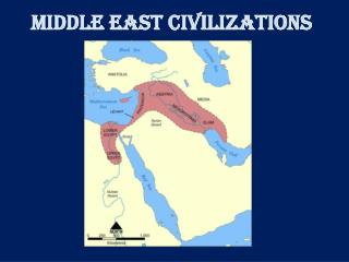 MIDDLE EAST CIVILIZATIONS