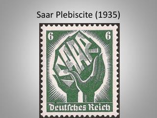 Saar Plebiscite (1935)