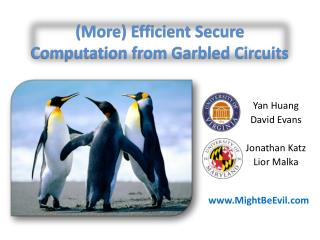(More) Efficient Secure Computation from Garbled Circuits