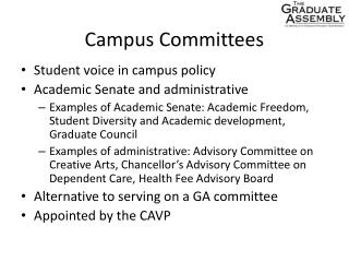 Campus Committees