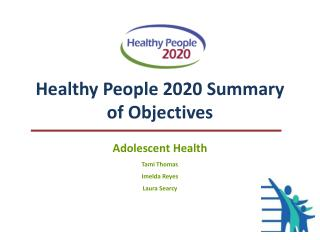 Healthy People 2020 Summary of Objectives